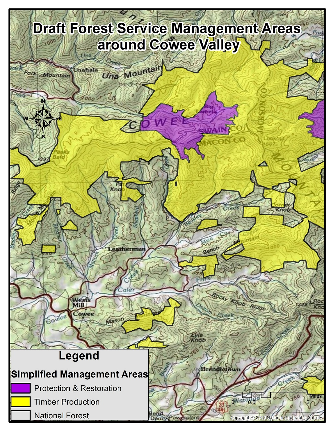 Areas Threatened In The Draft US Forest Service Management Plan - Us forest service ecoregion map