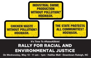 rally for racial & environmental justice