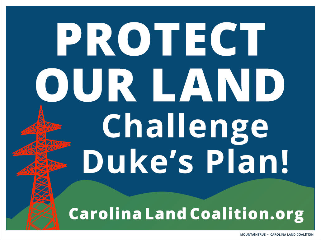 Protect our land poster