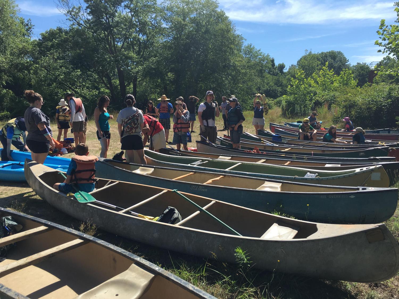 Boats are ready