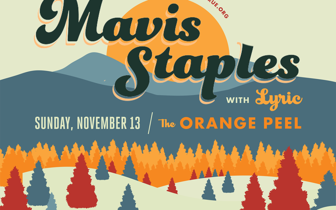 Mavis Staples to Perform in Asheville at Benefit for MountainTrue