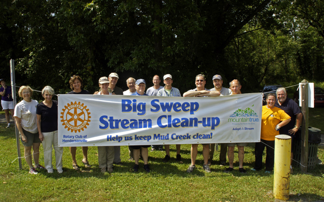 Henderson County Big Sweep Hauls 4,400 Lbs of Trash from Local Rivers and Streams