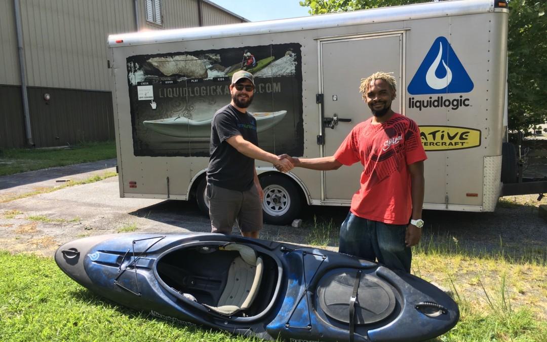 Liquidlogic Donates Kayak for Water Monitoring