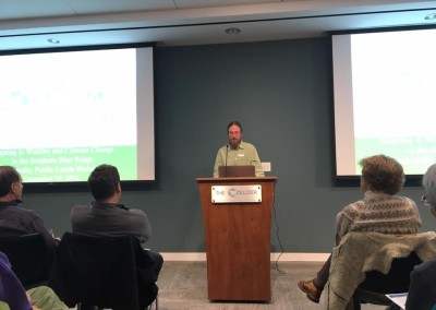Josh Kelly at the Climate Collider