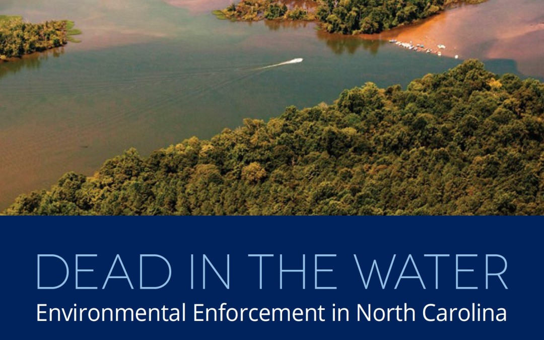 New Riverkeeper Report: Dead in the Water