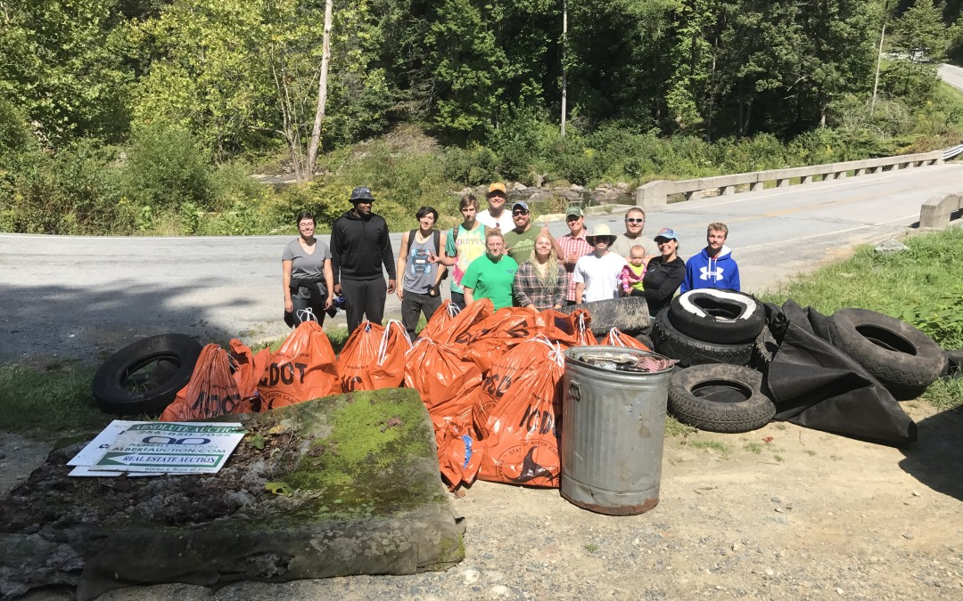 Turnout for 30th Annual Big Sweep Nearly Quadruples, Volunteers Clean Up 50 miles in WNC