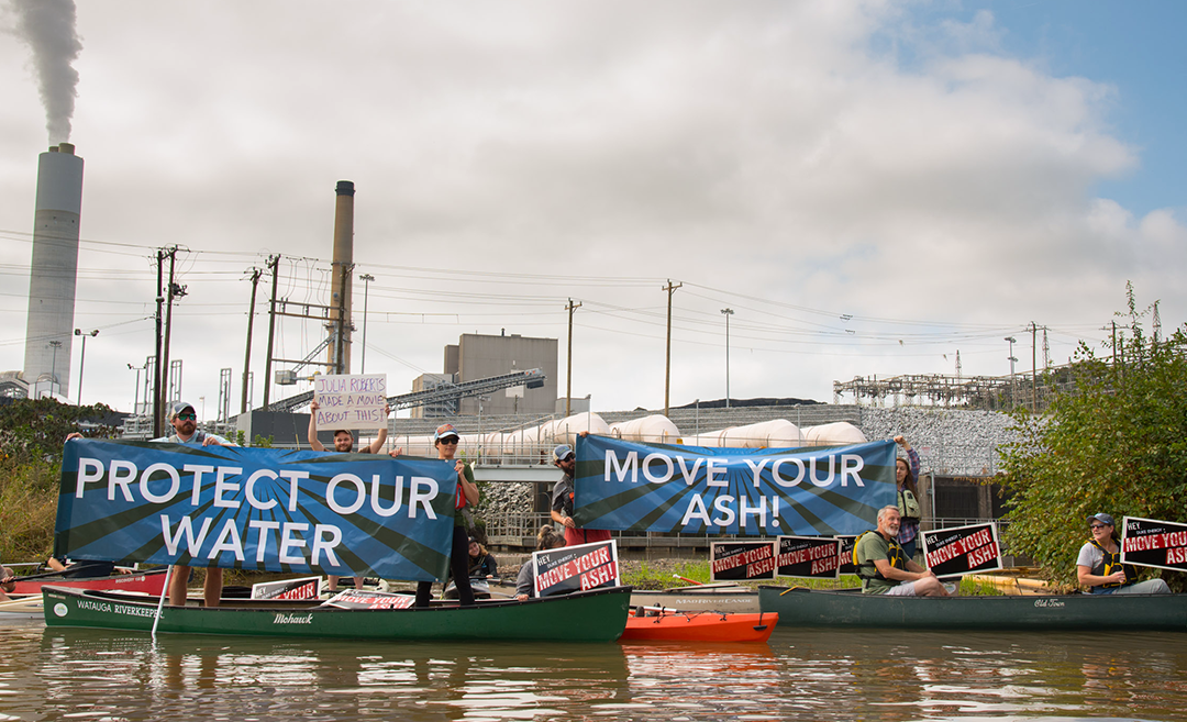 Speak Out: No More Leaks At Duke's Cliffside Coal Ash Ponds!
