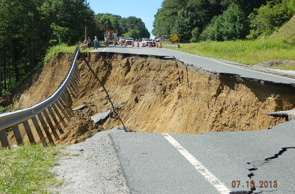 Take Action For Funding To Map Landslide Hazard Areas In WNC