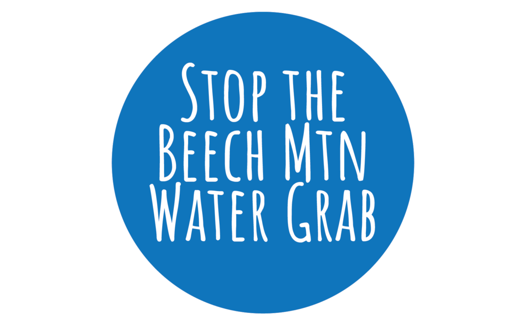 Tell Beech Mountain Town Council: Fix Your Pipes. Save Our River.