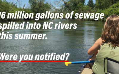 DEQ: It's Time to Modernize NC's Pollution Spill Notification System